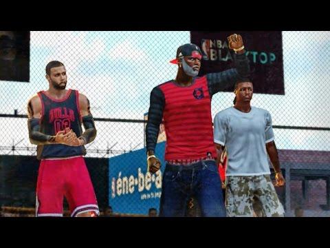 NBA 2k16 Blacktop Xbox 360 Gameplay - GRANDPA ALMOST PERFECT! QJB RAPPING Ep. 4