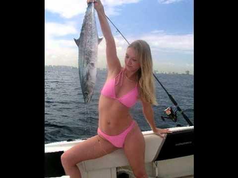 Compilation de femmes à la pêche