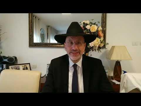 Parasha Houkat les honneurs se méritent, David Illouz remercier Hashem pour avoir trouver un travail en Israel