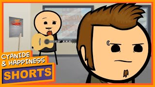 I Can Play a Guitar with No Hands: Cyanide & Happiness
