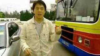 Jackie Chan Bus Stunt Goes Wrong