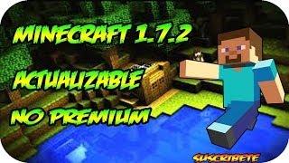 Descargar Minecraft 1.7.2 No Premium (Actualizable)