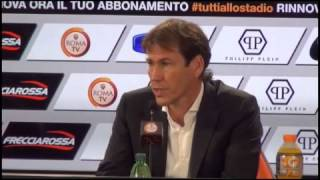 Roma, Garcia: 'Con la Samp per il riscatto, Bayern superiore. Uscita di Totti? Ne avrei cambiati 11'