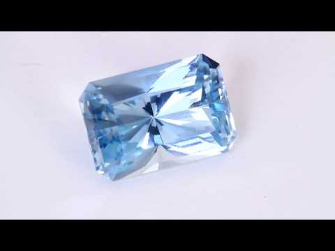 Gem Aquamarine From Madagascar 6.02 ct.
