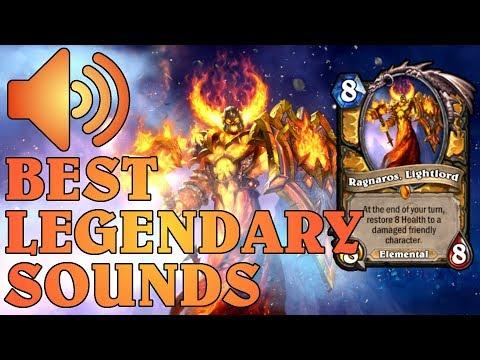 Best Hearthstone Legendary Play Sounds/Music