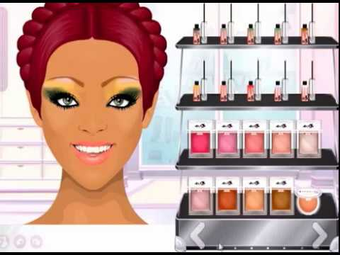 Stardoll Make-up Beyonc &amp; Rihanna INSPIRED Tutorial (read description) #116