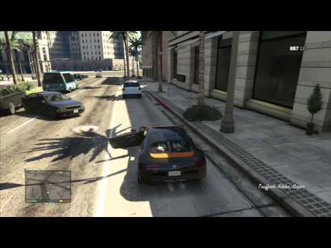 Carro raro Bugatti, como pegar [GTA V]