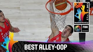 USA v Serbia - Best Alley-Oop - 2014 FIBA Basketball World Cup