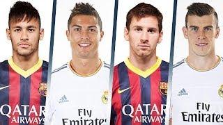 Ronaldo Vs Messi Vs Bale Vs Neymar