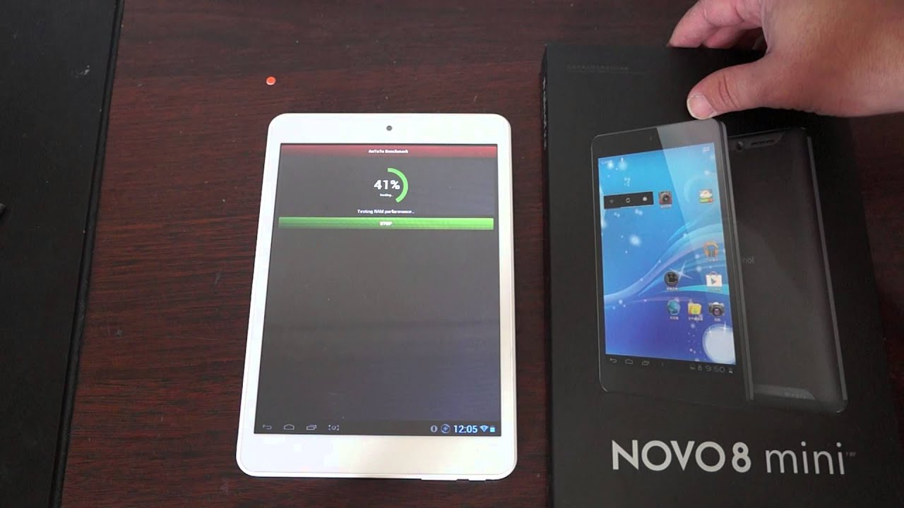 cận cảnh Ainol Novo 8 Advance Mini