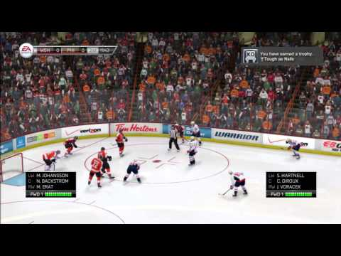 NHL 14 PS3  Washington Capitals Vs Philadelphia  Flyers