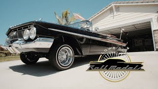 Xavier the X-Man & His 1961 Chevrolet Impala - Lowrider Roll Models Ep. 8. MotorTrend.