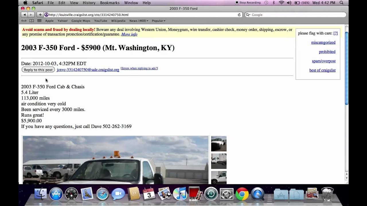 Craigslist Louisville Kentucky - For Sale by Owner Ford ...