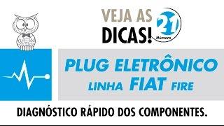DICA MTE 21 – Plug Eletrônico Linha FIAT Fire
