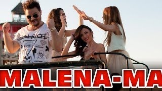 Andreias -Malena (lyrics video)