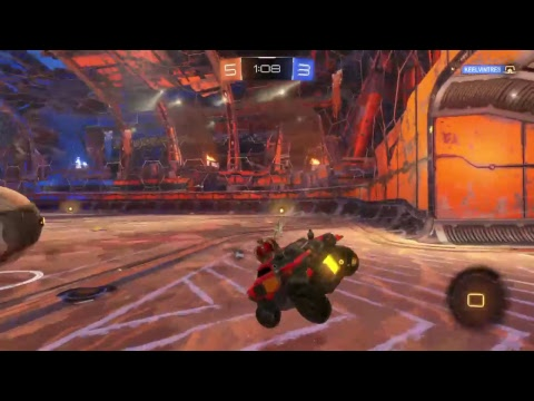 Rocket league gameplay 9