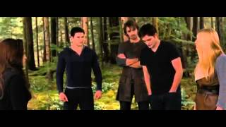 The Twilight Saga Breaking Dawn Part 2 Shield Training