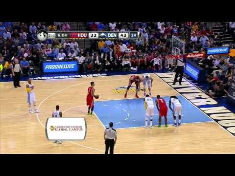Jeremy Lin 林書豪 2014 04 09火箭vs金塊 Rockets vs Nuggets