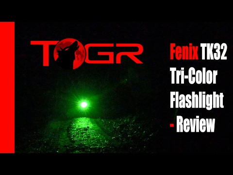 Fenix TK32 Tri-Color Flashlight - Review