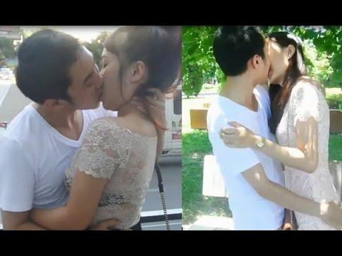 [Hài tục tĩu ] Hôn gái dạo cười đau bụng  || How to kiss a girl!