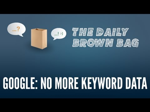 Google Encrypting All Searches: No More Keyword Data