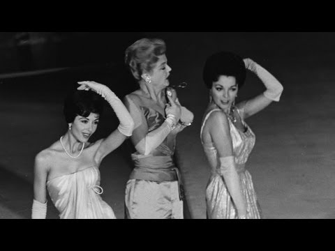Angela Lansbury, Joan Collins and Dana Wynter performing at the Oscars®