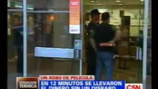 C5N ROBO DE PELICULA EN EL BANCO GALICIA: LAS CLAVES