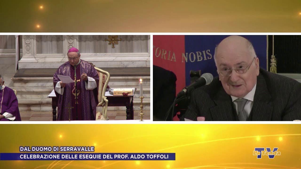 Celebrazione delle esequie del prof. Aldo Toffoli