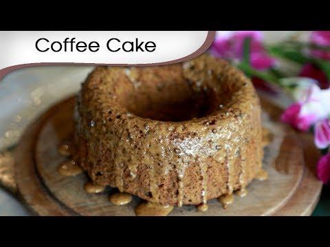 Coffee Cake - Tea Time Dessert Recipe - Cake Recipe By Annuradha Toshnwal [HD]