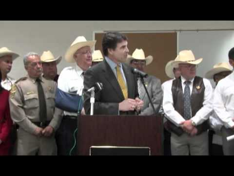 Texas Governor Rick Perry signs SB11 into Law