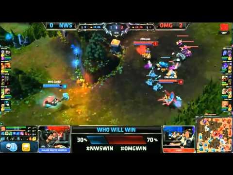 LMHT [06-10-2014] NWS vs OMG - Chung Kết Thế Giới Mùa 4 - Tứ Kết 4 - Trận 3
