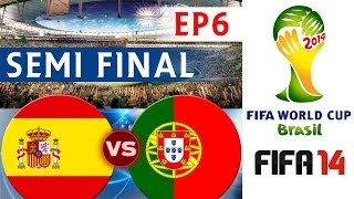 [TTB] 2014 FIFA World Cup Brazil Spain Vs Portugal