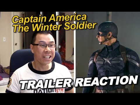 Reaction to Captain America Winter Soldier Trailer 2 (Superbowl)