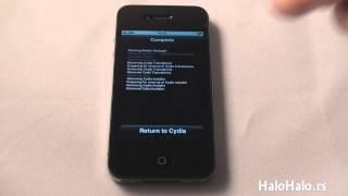 iPhone 4 kako deinstalirati Jailbreak