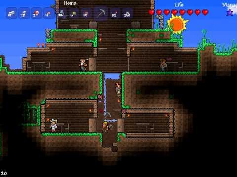 Cool terraria house designs memes for Terraria house designs