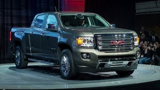 2015 GMC Canyon : North American International Auto Show in Detroit