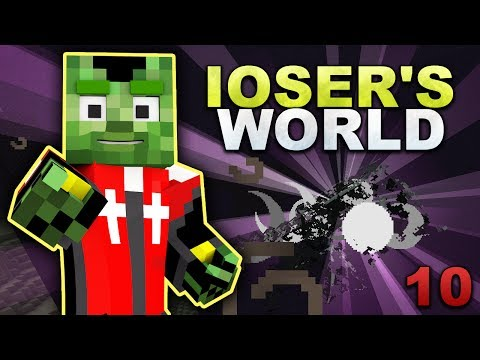 iOser's World - #10: Ultra effiziente Enderman-Farm (1/2)
