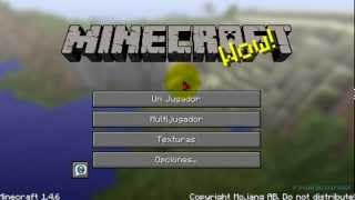 Descargar Minecraft Gratis 1.4.6 Full Completo [PC]