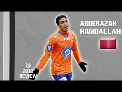 ABDERRAZAK HAMDALLAH | Goals, Skills, Assists | Aalesund | 2013 (HD)