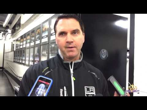 LA Kings Goaltending Coach Bill Ranford: Post-Practice Interview, December 8, 2013