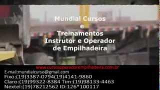 Curso Instrutor para Operador de empilhadeira   - youtube