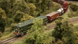 Führerstandsmitfahrt auf der Modellbahn von Trains Miniatures de l'Omois