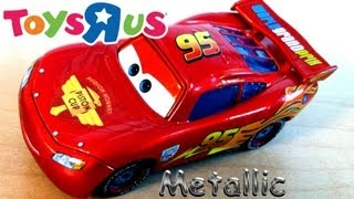 "Metallic Lightning McQueen From Toys""R""Us Diecast Cars 2"