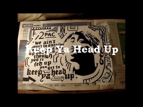 2pac s keep ya head up song 1993-10-28 i try to keep my head up and  that may explain tupac's inspiration behind this song:  the beginning of 'keep ya head up', he dedicates the song to.