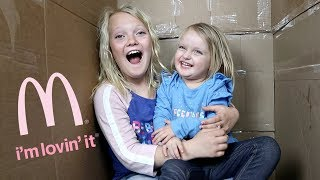 MAILED OURSELVES TO MCDONALDS AND IT WORKED! (skit)