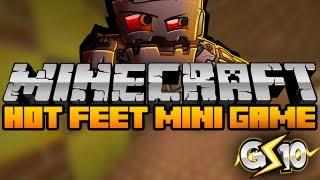 Minecraft Hot Feet Mini-Game w/ Graser & Friends!