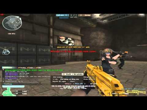 Tiến xinh trai - săn zomebie v4 bằng BizonPP19 Gold full đạn - CF đỉnh cao
