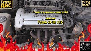 Гордость за дросселя и позор за ГБЦ - Двигатель Toyota 4A-GE (1.6). Евгений Травников.