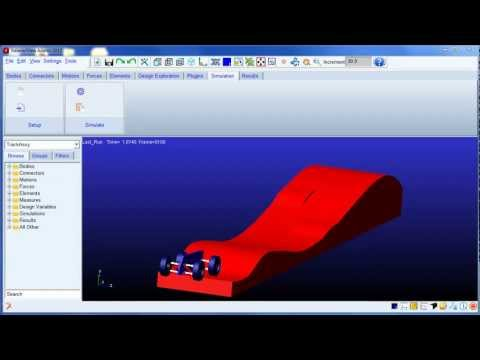 Multibody dynamics using Solidworks &amp; Adams 2012