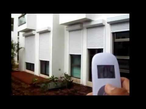 Cortina para  exterior proteger ventanas contra huracanes y ciclones